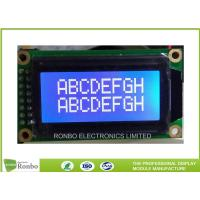 Buy cheap Small 8 * 2 Character Display Module , Lcd Character Module ISO9001 Certification from wholesalers