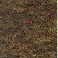 Buy cheap Golden Autumn Quartz Stone Countertop , Laminate Artifical quartz kitchen worktops from wholesalers
