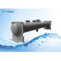 Buy cheap Square Plate Type Shell Tube Chiller Heat Exchanger Condenser from wholesalers