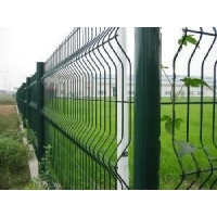 China Metal Curved Panel 3D Garden 3.0mm Roll Top Fencing on sale