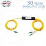 Buy cheap Single Mode FTTH Distribution Box Optical Coupler 1x2 LC APC PLC Splitter FBT from wholesalers