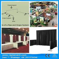 Buy cheap RK Customized pipe&drape trade show booth exhibit display wedding stage backdrop from wholesalers