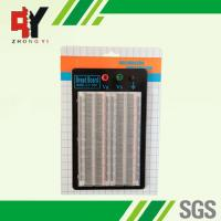 Buy cheap Student DIY Transparent Soldered Breadboard 1660 Points 2 Terminal Strip from wholesalers