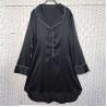 Buy cheap Sexy Black Women Pyjama Set , Long Sleeves Soft Ladies Satin Pyjamas from wholesalers