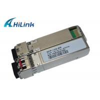 Buy cheap ER 40km 1310nm SFP+ Optical Transceiver Module Compatible With Cisco / Mikrotic / Huawei product