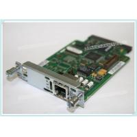 Buy cheap Cisco Router Module Cards VWIC2-1MFT-T1E1 1 Port Service  Environmental Protection from wholesalers
