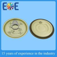 Buy cheap Safe Metal Tin Can Lids 211# 65mm Tinplate Easy Open End Food Grade from wholesalers