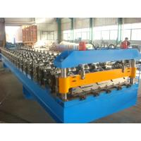 Buy cheap 5.5kw Roof Sheet Roll Forming Machine with Touch Screen PLC Control System from wholesalers