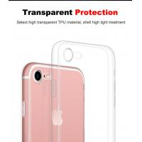 Buy cheap Ultra Thin Soft Tpu Case For Apple Iphone 7/7 Plus Camera Protection Crystal Clear Transparent Cover Phone Cases from wholesalers