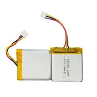Buy cheap 1C Rate 650mAh 3.7 V Lithium Battery Pack For Portable Source product