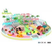 Buy cheap Macaron Theme Kids Plastic Indoor Playground With Slide Multi - Functional product