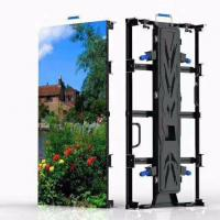 Buy cheap SMD2121 Rental LED Display P3.91 Indoor Movable Die Casting Panel 500x1000mm Nation Star from wholesalers