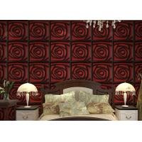Buy cheap Home Wall European Style Wallpaper Contemporary Mural Leather 3D Wall Panel for product
