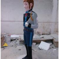 Buy cheap frozen character cartoon Lego toy statue  life size of fiberglass colorful   as decoration in park garden from wholesalers