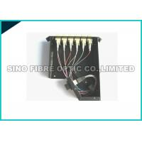Buy cheap 40 Gig Angled Patch Panel 12 Port , LGX Fiber Panel Modular Cassette Assembly from wholesalers