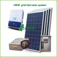 China 15kw PV Grid Tied Solar Power System , Efficiency Solar Mounting System on sale
