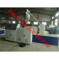 China PP PE PVC Window and Door Frame WPC Profile Production Line on sale