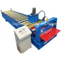 Buy cheap Hi Rib Trapezoidal Wall Panel Roll Forming Machine , roof sheet forming machine from wholesalers