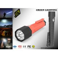 Buy cheap Waterproof IP 68 Powerful Led Torch With CREE OLED Digital Screen 20000Lux from wholesalers