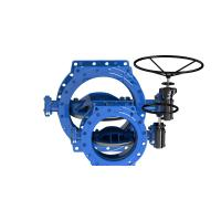 Buy cheap Dovetail Blue Rubber Seal Butterfly Valve Low Operating Torque Available from wholesalers