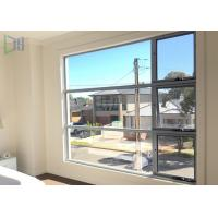 Buy cheap 1.2mm Thickness Aluminium Awning Windows With Top Germany Hardware System product