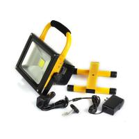 Buy cheap Battery Powered Work Lights Led Rechargeable Flood Light 6000K - 6500K from wholesalers
