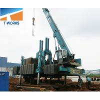 Buy cheap T-WORKS 120T Hydraulic Piling Machine for Concrete Spun and Square Pile Without Noise And Vibration product