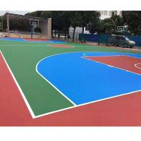 Buy cheap Colorful Thick PU Sports Flooring Polyurethane Materials Self Leveling Coating from wholesalers