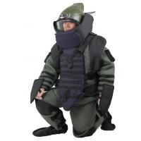 Buy cheap All Round Bomb Disposal Equipment Protective Bomb Clothing Suit With Mask And Helmet from wholesalers
