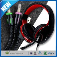 Buy cheap Gaming Headset and Earphone , 3.5mm Volume Control Computer Headset from wholesalers