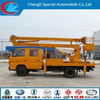 Buy cheap Jmc Double Row 14 Meters truck mounted lift from wholesalers