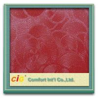Buy cheap Tear-Resistant Embossing PVC Artificial Leather for Car Seat , 0.6mm - 1.0mm product