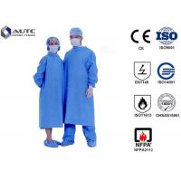 Buy cheap Sterile Chemotherapy Disposable Hospital Scrubs Gowns  S-5XL Customized Size product