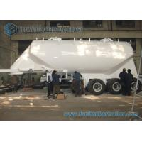 Buy cheap SS 304 / AL5083 35M3 Conoid Dry Bulk Tank Trailer Tri-Axle with WABCO ABS Braking system from wholesalers