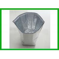 Buy cheap Silver Protective Cold Frezon Insulated Box Liners Insulated Foil Bubble Bag from wholesalers
