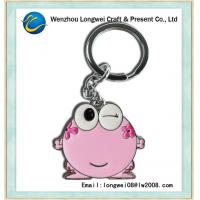 Buy cheap Carabiner gift / souvenir keychain acrylic keychain with metal key ring from wholesalers