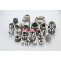 Buy cheap ASTM A182 F904L/UNS N08904/1.4539 forged socket welding SW threaded pipe fittings from wholesalers