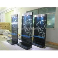 Buy cheap OEM / ODM Retail Store LED Lighting Advertising Display Stand With Metal Hooks from wholesalers