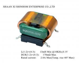 China RoHS 250V Horizontal SMD Filters Common Mode Choke on sale