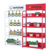 Buy cheap AUTOTONE Multifuctional Display Rack Shelf , Auto Car Paint Display Shelf, Exhibition Shelf for Gas Station from wholesalers