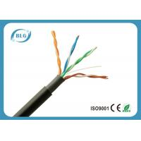 Buy cheap Black Super Long Outdoor Ethernet Lan Cable With UV Resistant PVC Jacket from wholesalers