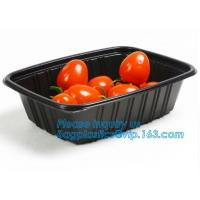 Buy cheap OEM and ODM custom plastic 2100ml pp 4 compartment plastic food box,disposable food container, plastic plate, plastic cu from wholesalers