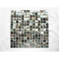 Buy cheap Black mother of pearl shell mosaic from wholesalers