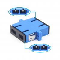 Buy cheap SC UPC Duplex Adapter Fiber Optic Adapter For FTTH fiber connection Low Insertion Loss from wholesalers