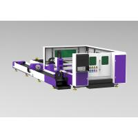 Buy cheap Tube / Pipe Cnc Laser Cutting Equipment IPG Source High Position Acccuracy from wholesalers