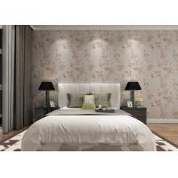 Buy cheap Washable Vinyl Rustic Floral Wallpaper with Botanical Pattern for Living Room from wholesalers