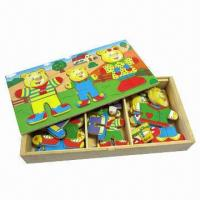 Buy cheap Wooden Toy/Puzzle, Non-toxic Painting, Measuring 28.5 x 14.3 x 4.1cm from wholesalers