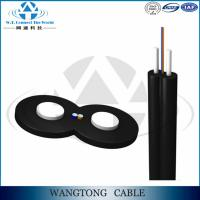 China Bow type 1/2/4 core G657A FTTH fiber optical cable drop wire cable GJYXFCH on sale