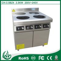 Buy cheap 4 burner commercial electric induction plate from wholesalers