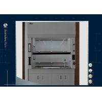 Buy cheap Biological Science Laboratory Ductless Fume Hood Iron Metal Type Corrosive Resistant from wholesalers